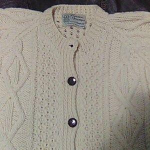 Creation Boutique cream  wool  sweater
